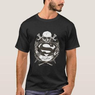 De superman stileerde het Logo van de T Shirt