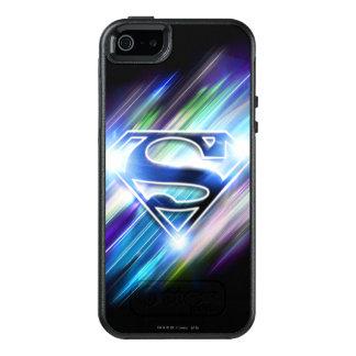 De superman stileerde Logo van de Uitbarsting van OtterBox iPhone 5/5s/SE Hoesje
