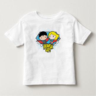 De Superman van Chibi & de Macht van Chibi Kinder Shirts