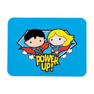 De Superman van Chibi & de Macht van Chibi Magneet