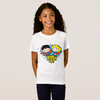 De Superman van Chibi & de Macht van Chibi T Shirt