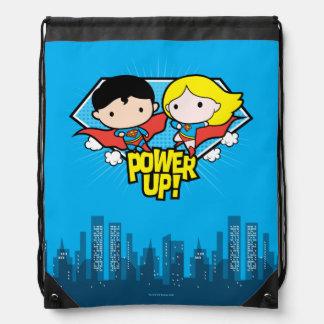 De Superman van Chibi & de Macht van Chibi Trekkoord Rugzakje