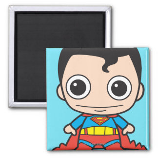 De Superman van Chibi Vierkante Magneet