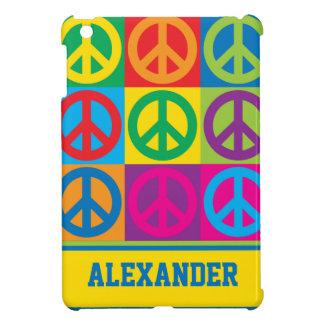 De Symbolen van de Vrede van het pop-art iPad Mini Hoesje