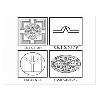 De Symbolen van Plejaren Briefkaart