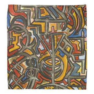 De symbool-Abstracte Geometrische Kunst van het Bandana