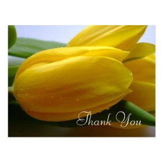 De sympathie/de Begrafenis dankt u Briefkaart