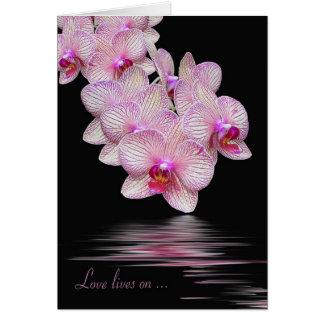 De Sympathie van de orchidee Kaart