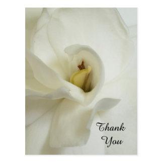 De Sympathie van gardenia dankt u Briefkaart