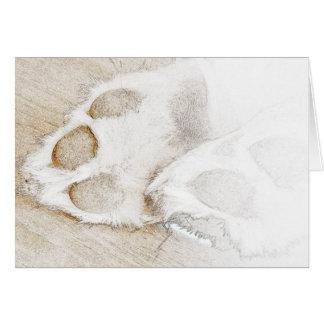 De sympathie van het huisdier briefkaarten 0