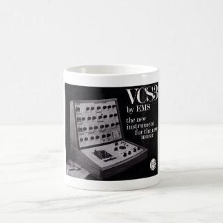 De Synthesizer van EMS VCS3 Koffiemok