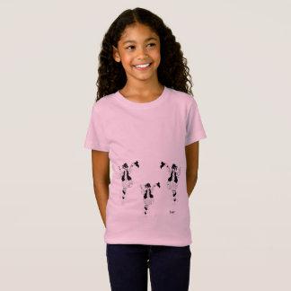 De T-shirt Griekse Evzone van meisjes