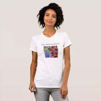 De T-shirt Jesus van de Helende Vrouwen van de