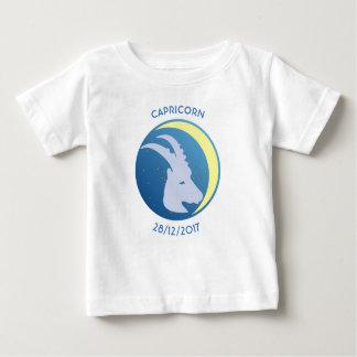 De T-shirt Steenbok van het Baby van het Teken van