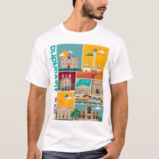 De T-shirt van Alexandrië van de liefde