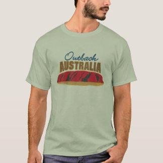 De T-shirt van Australië van het binnenland