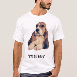 De T-shirt van Basset Hound