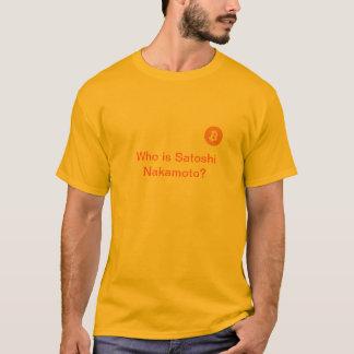De T-shirt van Bitcoin