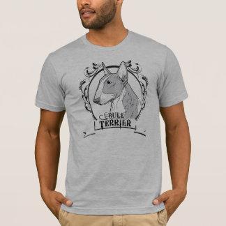 De T-shirt van bull terrier