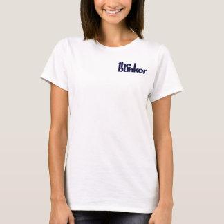 de t-shirt van bunkerdames go/bunker