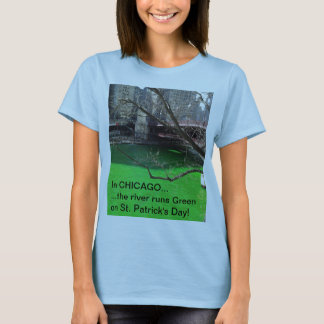 De T-shirt van Chicago voor St. Patrick Dag