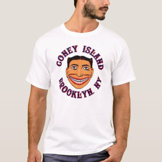 De T-shirt van Coney Island Brooklyn van de