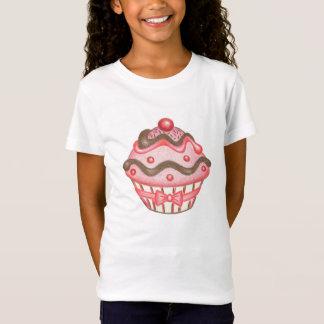 De T-shirt van Cupcake van het kind
