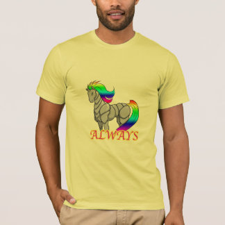De t-shirt van de Aanval van de Eenhoorn van de