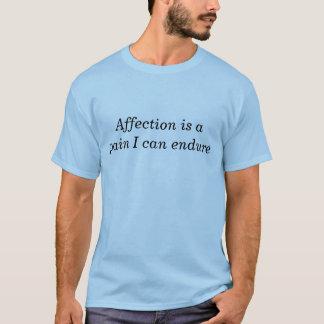 De t-shirt van de Affectie