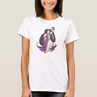 De t-shirt van de Afrikaanse Amerikaanse vrouwen