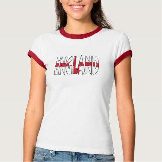 De T-shirt van de Bel van de Dames van Engeland