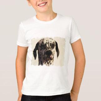 De T-shirt van de Bel van het Kind van de Hond van
