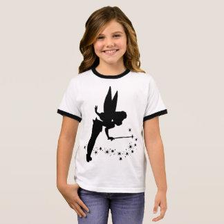 De T-shirt van de Bel van het Meisje van de fee