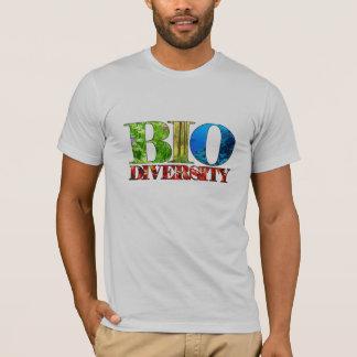 De T-shirt van de biodiversiteit