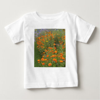 De T-shirt van de bloem