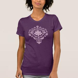 De T-shirt van de Bloem van Lotus