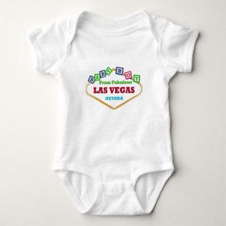 De T-shirt van de Blokken van Las Vegas van de