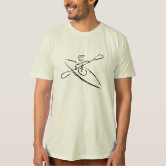 De T-shirt van de Borstel van de kajak
