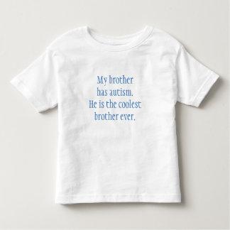 De T-shirt van de Broer van het autisme