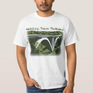 De T-shirt van de Brug van de Boog van het Brede