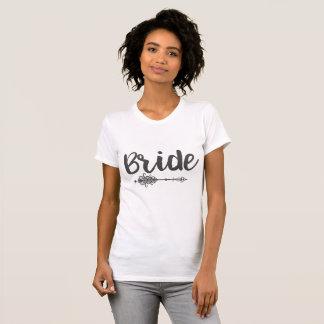 De T-shirt van de bruid & van de Pijl