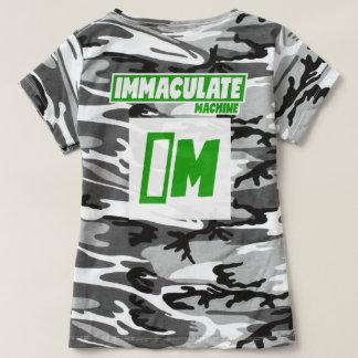 De T-shirt van de Camouflage van vrouwen -