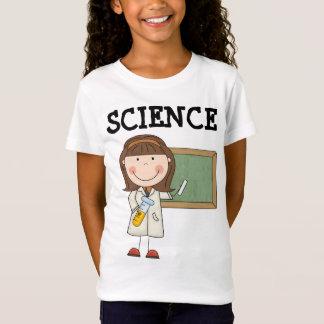 De T-shirt van de Cartoon van de wetenschap