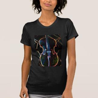 De T-shirt van de Cello van het neon