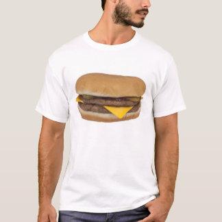 De T-shirt van de cheeseburger