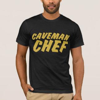 De T-shirt van de Chef-kok van de Holbewoner van