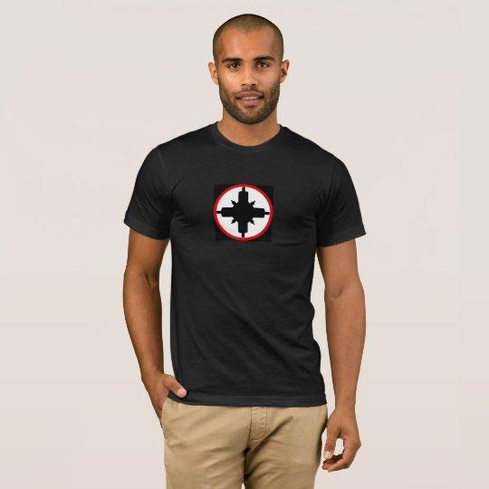De T-shirt van de Controle van het gedeelte