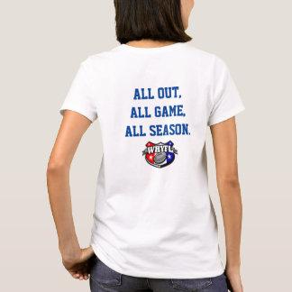 De T-shirt van de Dames Laders van de West- van