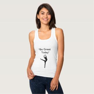 """De T-shirt van de danser """"is Grote vandaag """" ™"""