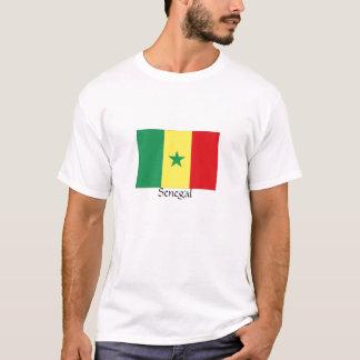 De t-shirt van de de vlagherinnering van Senegal